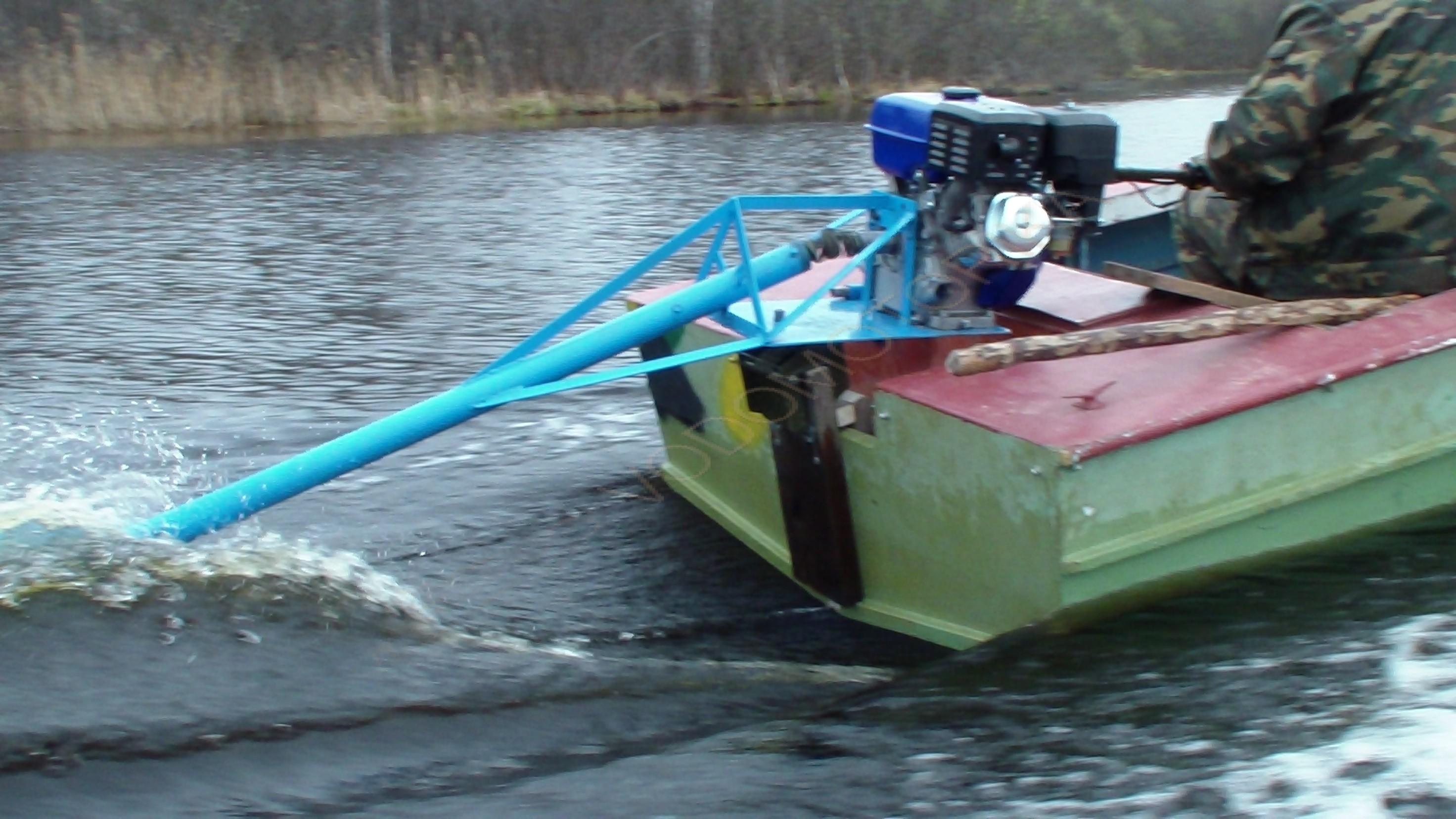видео лодка болотоход